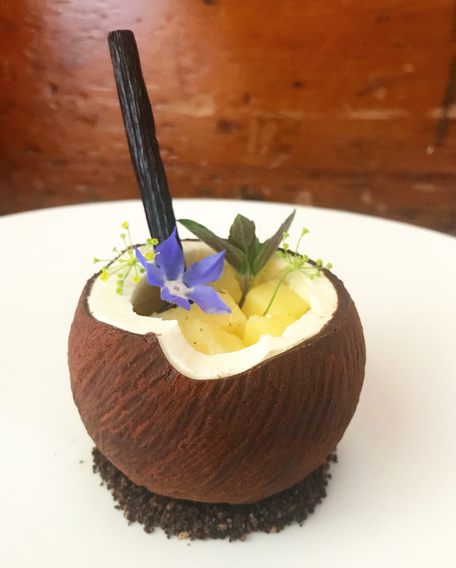 Desert Inspired By A Piña Colada