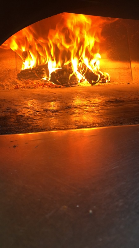 Love my wood oven