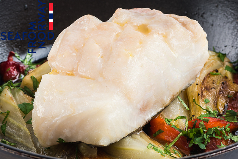 Baked Norwegian Cod With Fennel And Red Peppers - 2