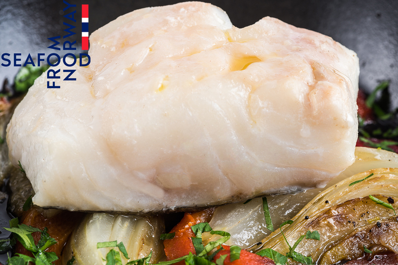 Baked Norwegian Cod With Fennel And Red Peppers - 3