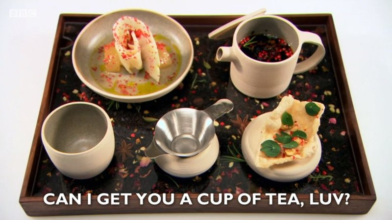"""Can I get you a cup of tea, luv?"" - my starter recipe for Great British Menu 2018 - 2"