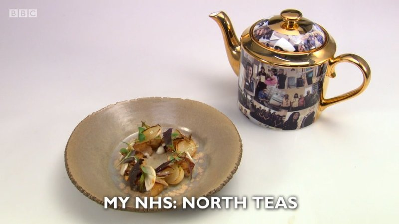 """My NHS: North Teas""  - my starter recipe for Great British Menu 2018"