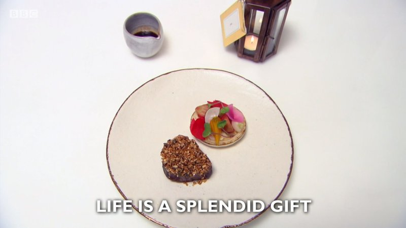 """Life is a splendid gift"" - my main course recipe for Great British Menu 2018 - 1"