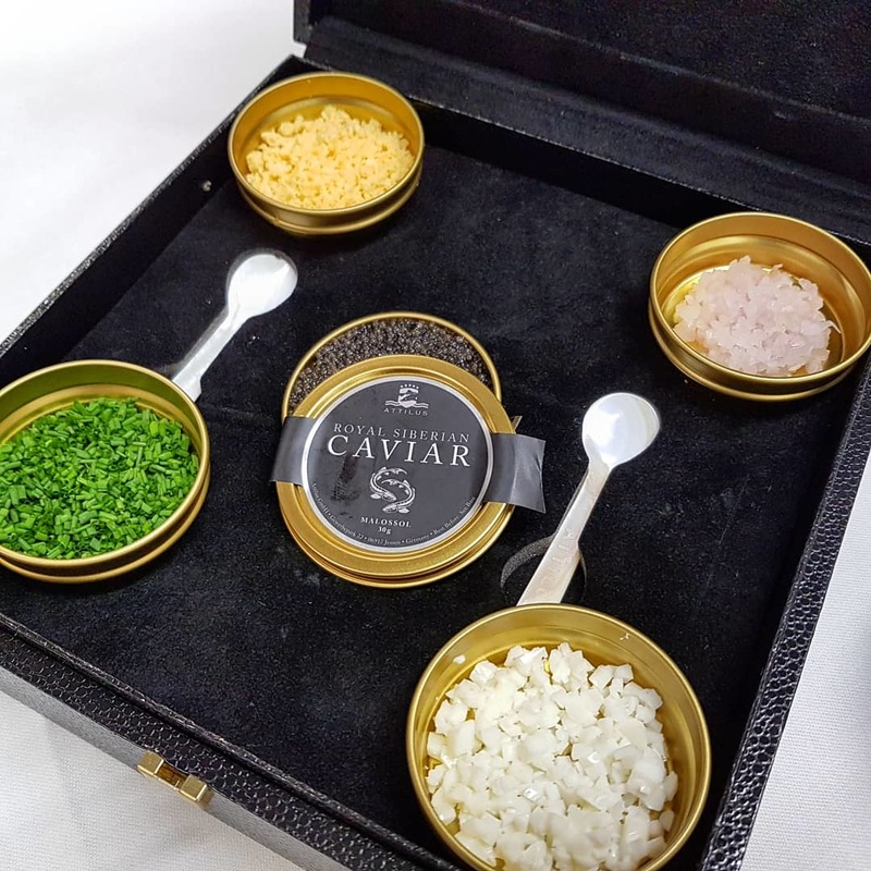 :star2: CAVIAR SERVING  :star2: