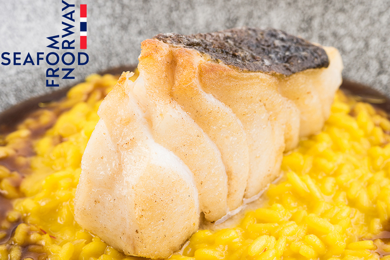 Norwegian Cod With Saffron Risotto And Red Wine Sauce - 2