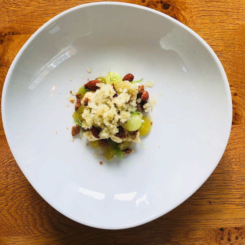 Granny Smith, fennel, smoked almond