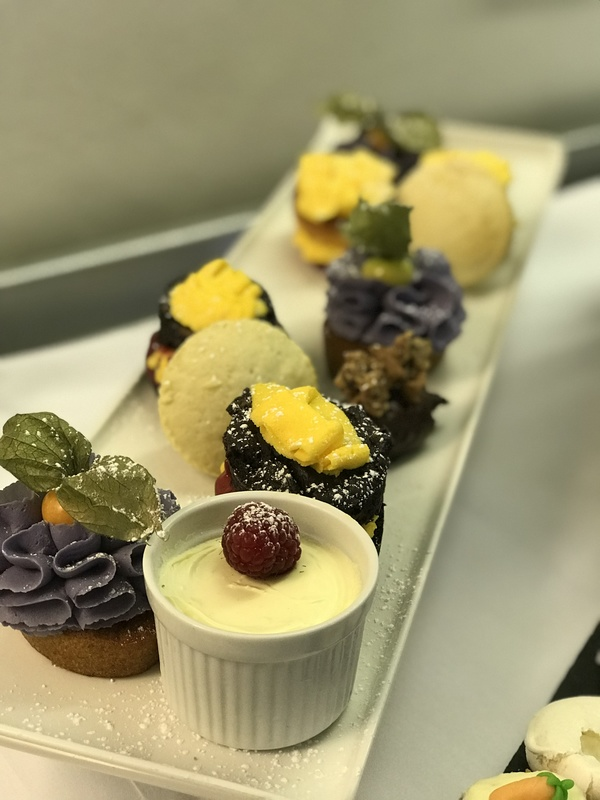 Students work from Leicester College enjoy producing an afternoon tea for their customers in our Taste restaurant.