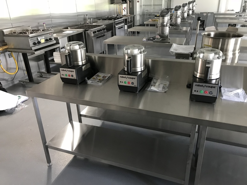 KCCJ Commercial Kitchens - New Training Kitchen!! - 2