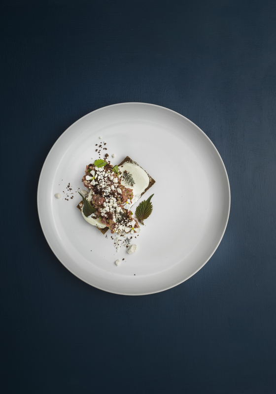 Te Mana Lamb Tartare With Sheeps Yoghurt, Rye Bread & Millard Powder - Adam Rickett