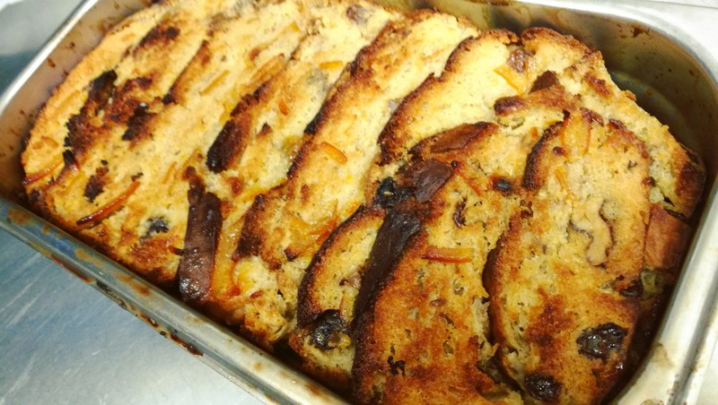 Orange, Sultana and Walnut Bread and Butter Pudding!