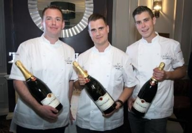 Tom Scade from The Ritz is crowned the UK Winner of the 52nd Le Taittinger Prix Culinaire - 2