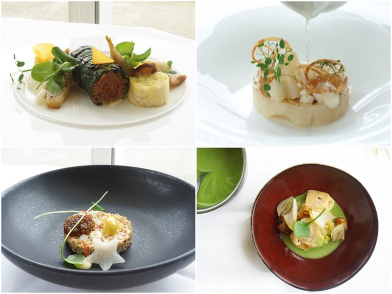 Some of the most popular Vegetarian Dishes at de Karpendonkse Hoeve this year.