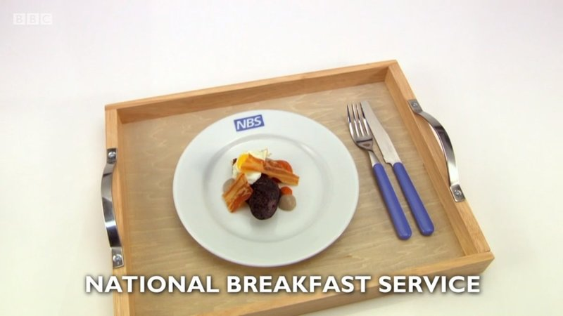 National Breakfast Service by Olivia Barry