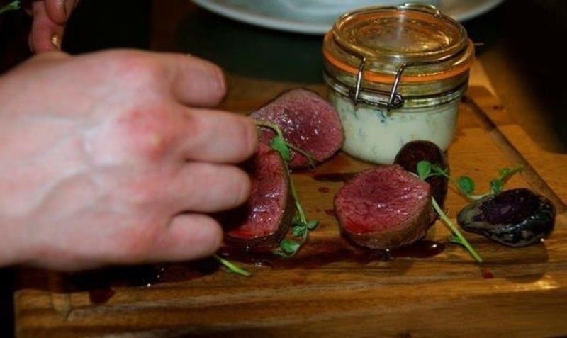 Loin of Venison with Blackberry Sauce using Nestlé Chef Stocks