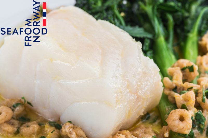 Confit Norwegian Cod Loin with Brown Shrimp and Lemon  Butter - 3
