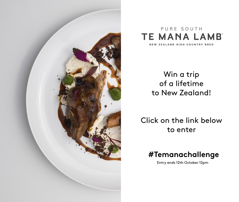*Competition Time* If you are a London based chef you could WIN a trip to New Zealand. Sign up at puresouth.co.uk/temanachallenge  Entry ends 12th October 12pm!
