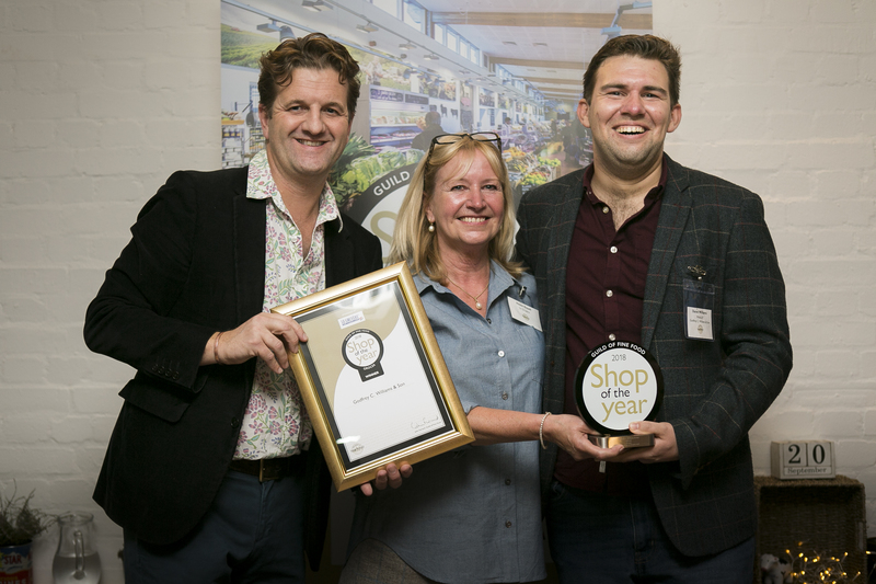 Independent retailers from across the UK have gathered at the Guild of Fine Food's home in London, No. 42 Southwark Street, to discover the winners of Shop of the Year, the awards that recognises and promotes retail excellence.