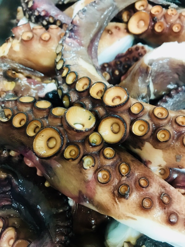 Octopus! Always about the product :yum: