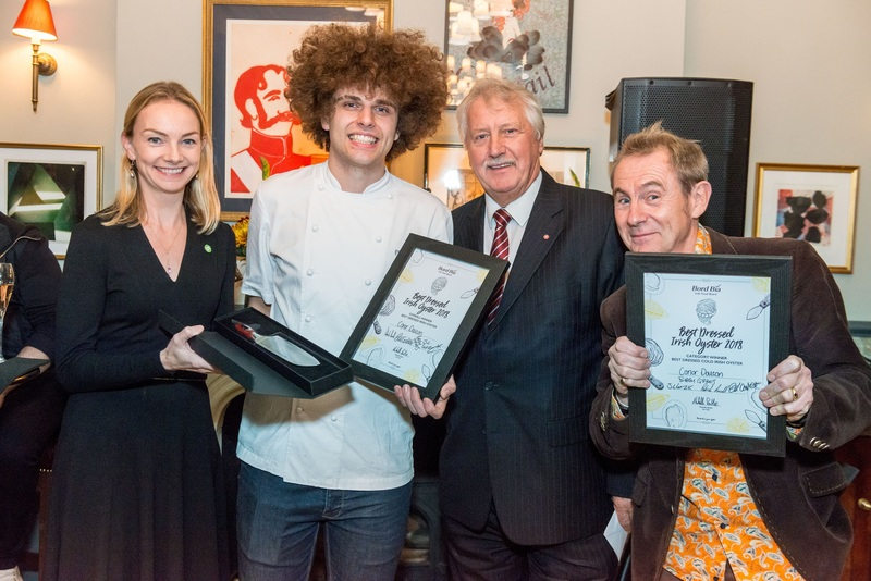 CONOR DALTON CROWNED WINNER OF THE UK'S BEST DRESSED IRISH OYSTER COMPETITION 2018