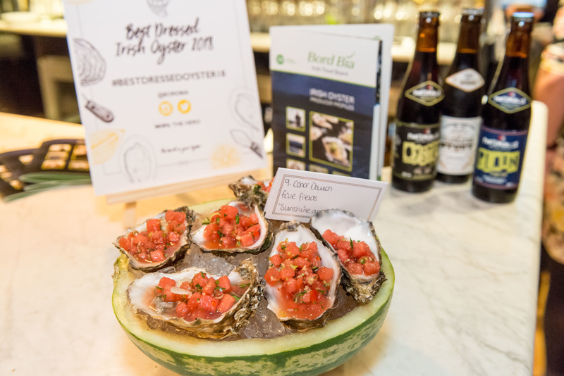 CONOR DALTON CROWNED WINNER OF THE UK'S BEST DRESSED IRISH OYSTER COMPETITION 2018 - 1
