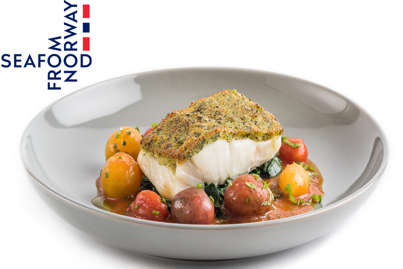 Parmesan And Herb Crusted Norwegian Cod - 1