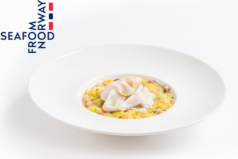 Smoked Norwegian haddock and sweetcorn chowder - 1