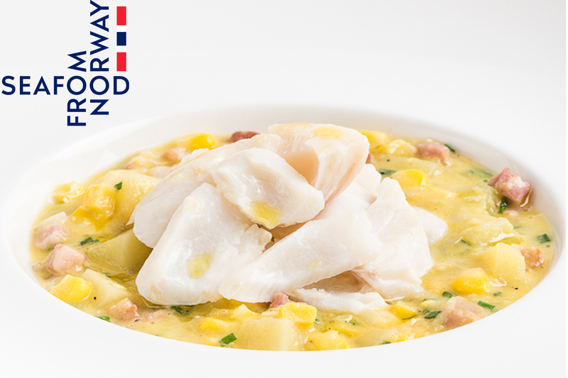 Smoked Norwegian haddock and sweetcorn chowder - 2