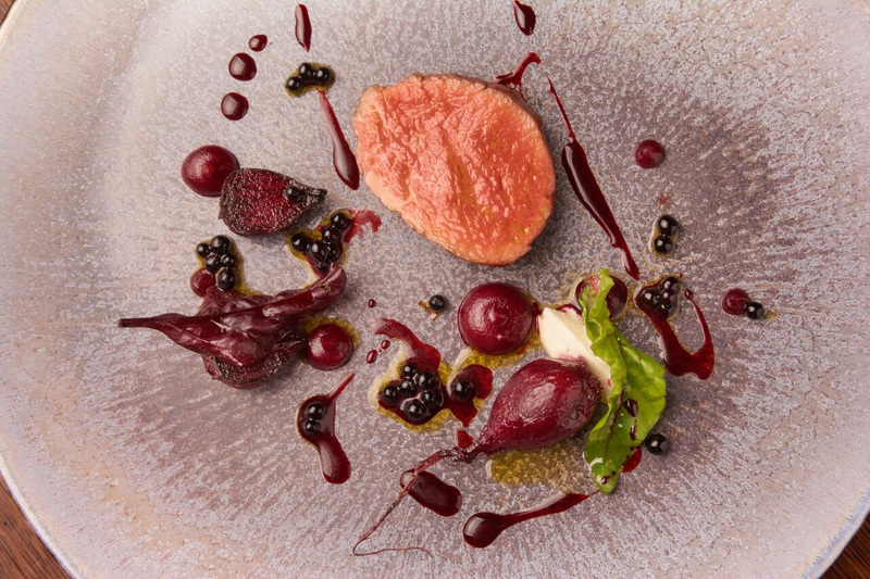 Aged Loin of Yorkshire Venison recipe by Paul Leonard