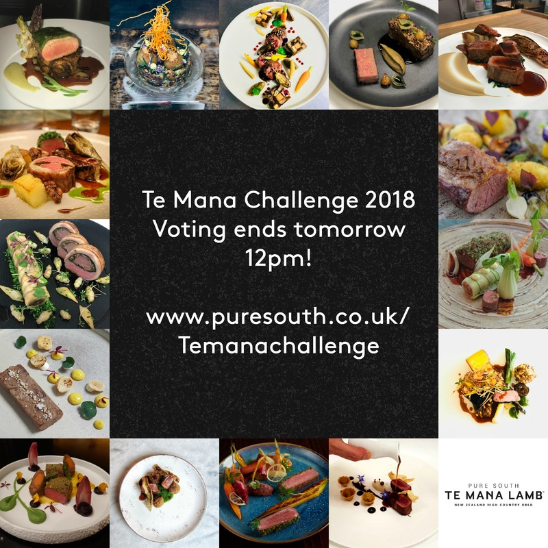 Our #Temanachallenge voting period closes tomorrow at 12pm! Make sure to get your vote in now before it's too late https://www.puresouth.co.uk/temanachallenge   #temanalamb #temana #competition :heart_eyes: