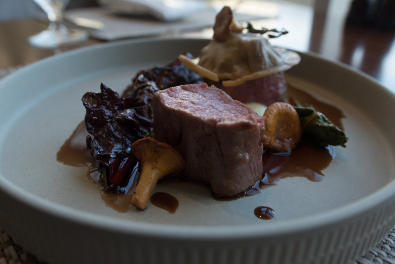 Saddle of Scottish lamb, smoked Duke of York mash, girolles and lamb ravioli recipe by Craig Hart - 2