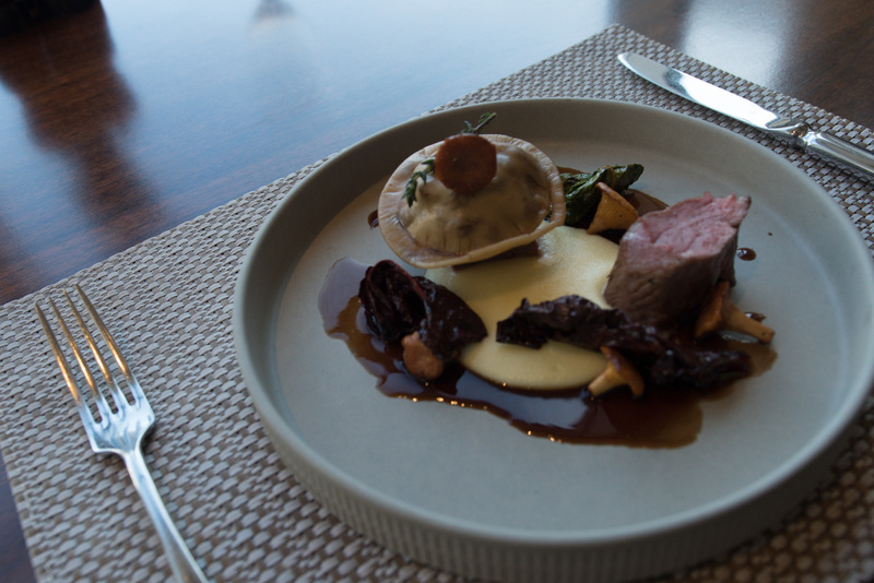 Saddle of Scottish lamb, smoked Duke of York mash, girolles and lamb ravioli recipe by Craig Hart - 4