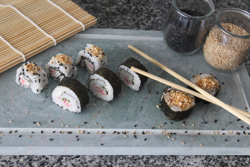 Homemade sushi :yum: