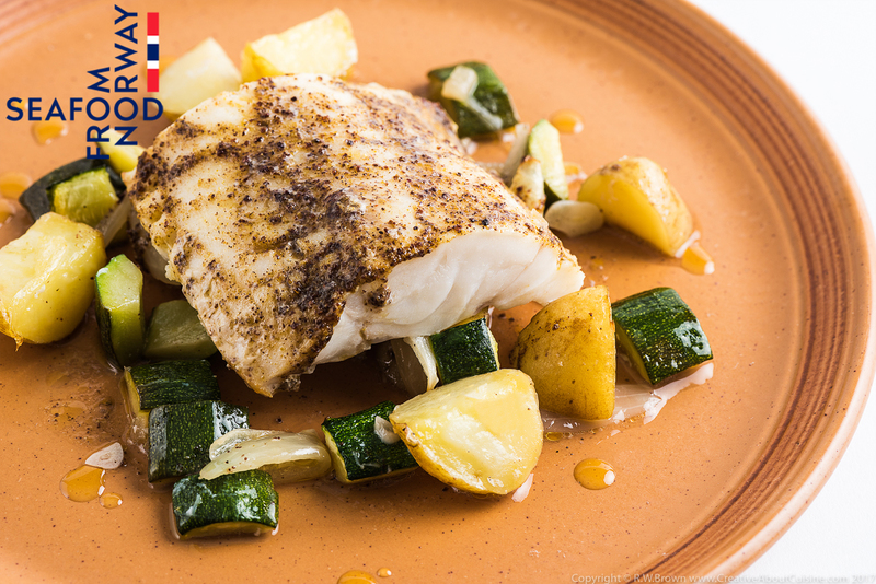 Baked Norwegian cod with Moroccan spices and preserved lemon - 2