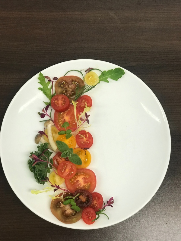 Marinated adorable tomatoes