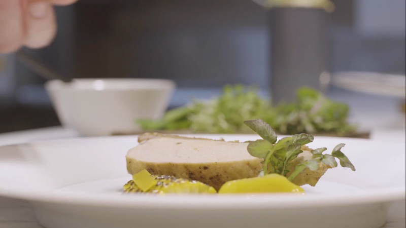 Recipe: Chicken, Sweetcorn, Mango Salsa by chef Adam Handling