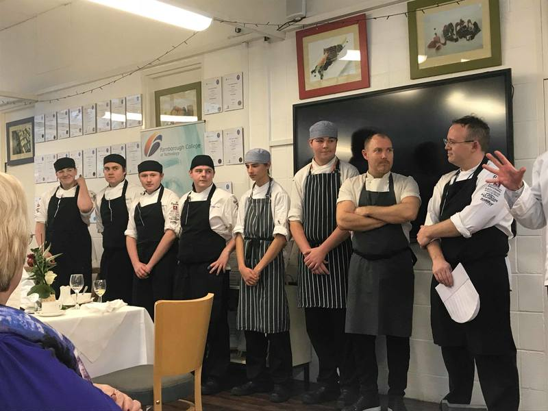 Great day on Friday at the Farnborough College of Technology for the HEAT culinary competition! :relieved::fork_knife_plate: