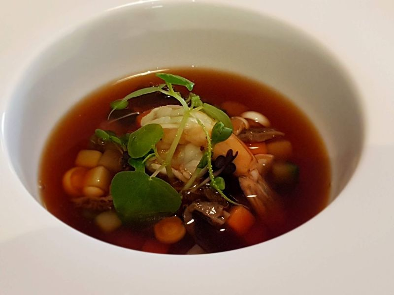 Consomme seafood