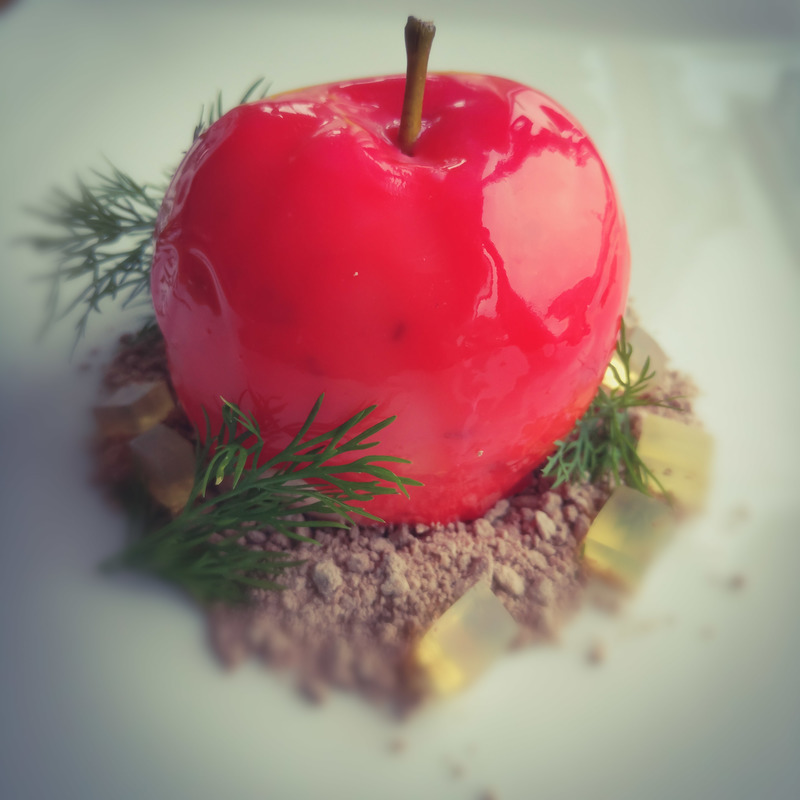 Apple /dill/jelly...