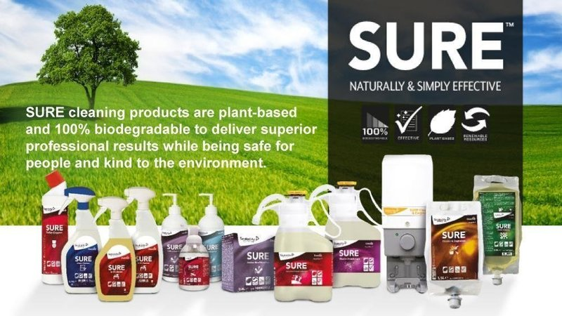 SURE: The power of nature for safe & sustainable cleaning