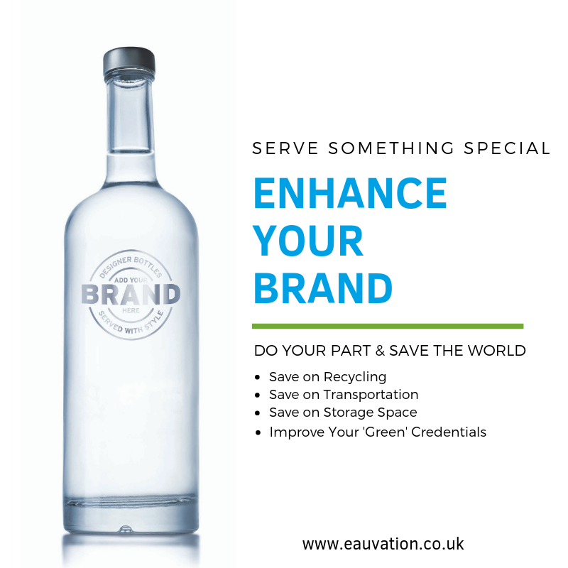 Still ordering bottled water? Did you know you can save time, space and cost by simply bottling the water yourself? Head over to EauVation.co.uk for more information.