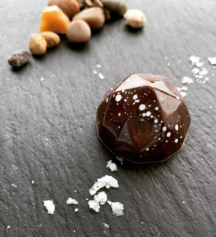 Isle of Skye sea salt | caramel | African blended origin dark chocolate