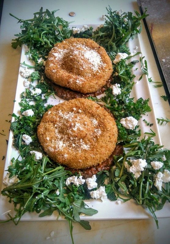Arancini Di Rosi Al Telephono Lamb/beef Lemon Parmesan risotto Mint & parsley garnish