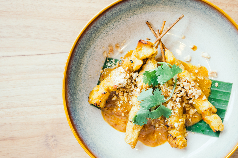 Tomorrow is Chinese New Year! Download our most popular recipe book; Eat Street, to read the full recipe for our Chicken Satay in Peanut Sauce! bit.ly/2BkXVbp