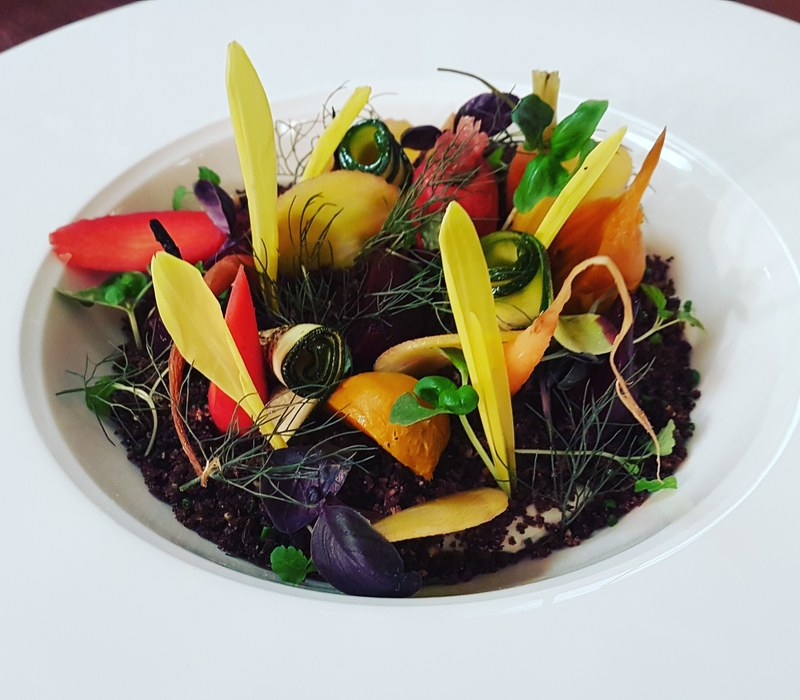 """Garden"" vegetable salad 