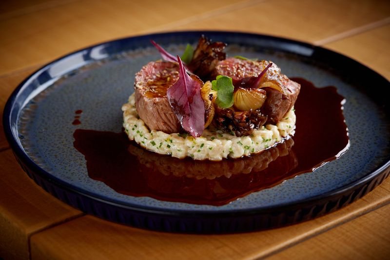 Spiced Scotch Lamb Loin recipe with pearl barley, grelot onions & girolle mushrooms by Jamie Scott - 7