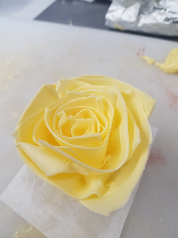 Classic butter rose for valentines