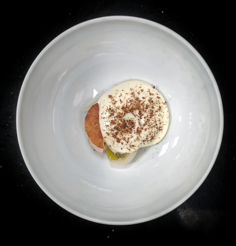 Cod Roe, potatoes, smoked cod liver.