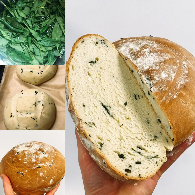 Wild Garlic Farmhouse Loaf