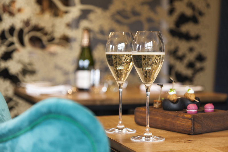 Champagne & Canapes at Paris House - celebrating 5 years' ownership with 5 Showcase Menus