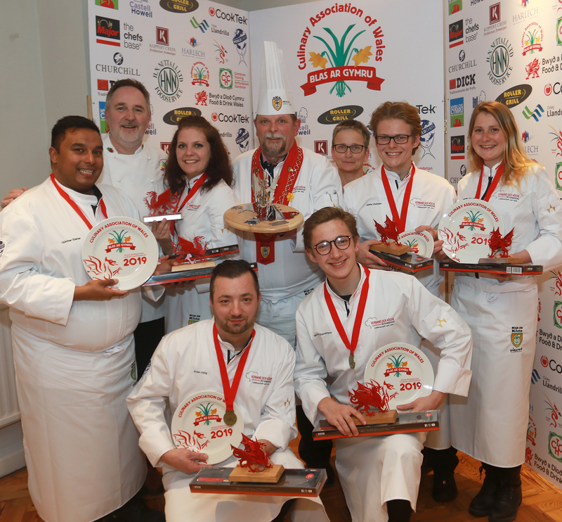 Austrians win Battle for the Dragon cook-off in Wales